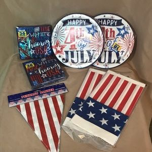 Other - New 4th of July Party Decorations Pack